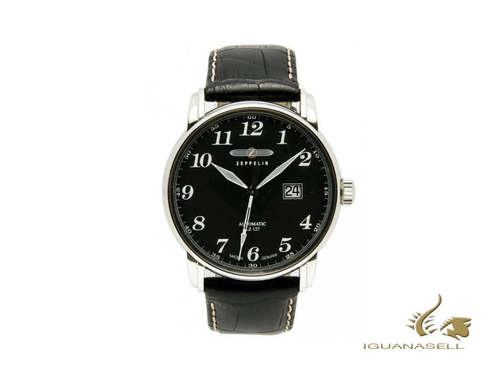 Montre Automatique Zeppelin LZ 127 Graf Zeppelin, Noir, 42 mm, 7652-2