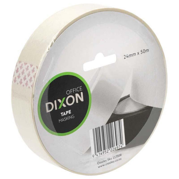 Dixon Tape Masking 24mmx50m - Office Connect