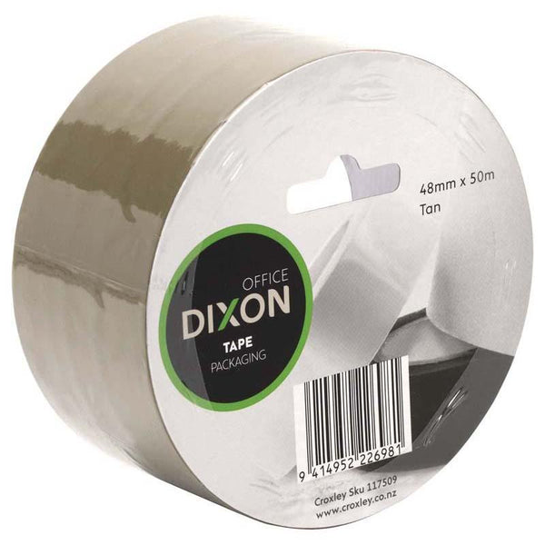 Dixon Tape Packaging Tan 48mmx50m - Office Connect