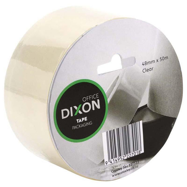 Dixon Tape Packaging Clear 48mmx50m - Office Connect