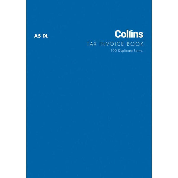 Collins Tax Invoice A5DL Carbon Required - Office Connect