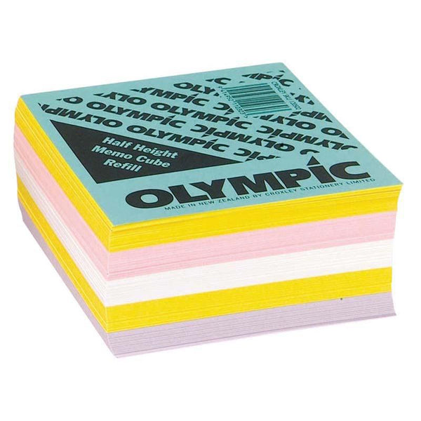 Olympic Memo Cube Half Height Refill - Office Connect