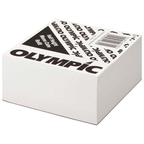 Olympic Memo Cube White Half Refill - 93 X 93mm 500s - Office Connect