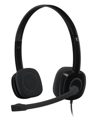 Logitech H151 Stereo Headset - Office Connect