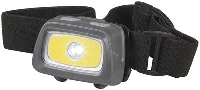 COB LED Head Torch with Red & Green LEDs - Office Connect