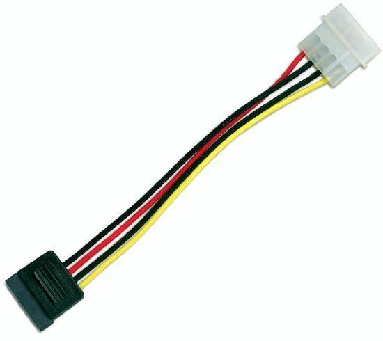 DYNAMIX 0.17m Serial ATA Power Cable - Converts a - Office Connect