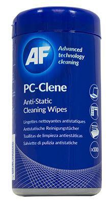 AF PC-Clene Anti-Static PC Wipes Tub - Office Connect