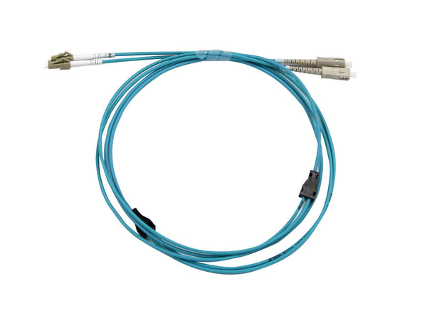 DYNAMIX 5M LC/LC OM3 Armoured Fibre Lead (Duplex, - Office Connect