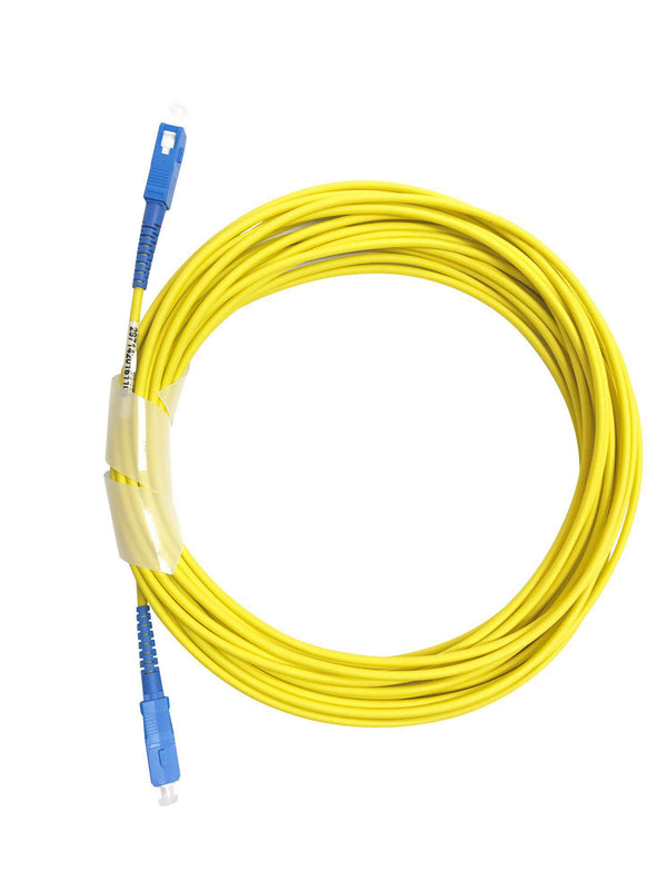 DYNAMIX 100M SCA/SCA OS2 Armoured Fibre Lead (Simplex, - Office Connect