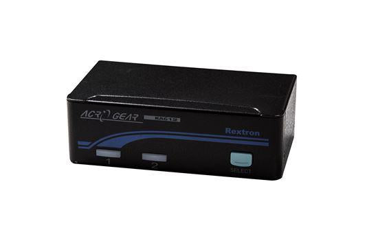 REXTRON 1-2 USB Automatic KVM Switch. Share 1x Keyboard/Video - Office Connect