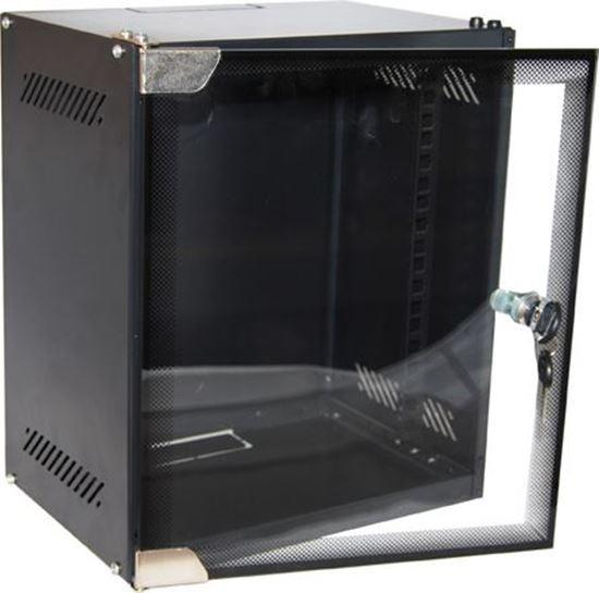 DYNAMIX 6RU Mini Cabinet for 10'' Panels, W280 x D310 - Office Connect
