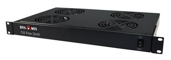 DYNAMIX 1U Fan Unit with 4x fans. 19'' Installation. - Office Connect