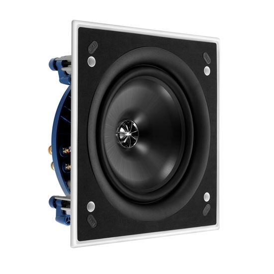 KEF Ultra Thin Bezel 8'' Square In-Ceiling Speaker. - Office Connect