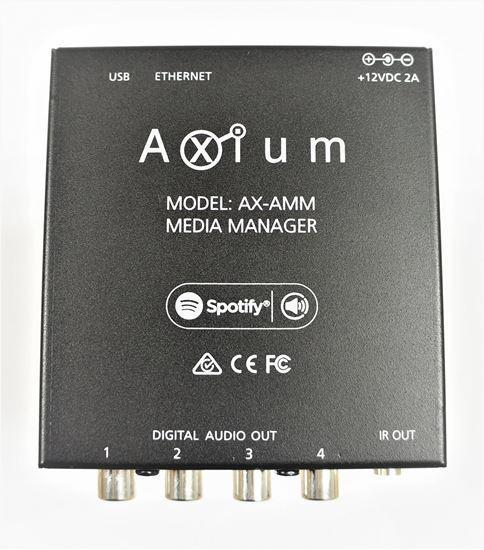 AXIUM Media Manager 4 Digital Coax and 8 network streams - Office Connect