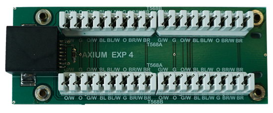 AXIUM IR receiver CatX punchdown expander for connecting - Office Connect