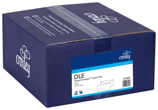 Croxley Envelope DLE Tropical Seal Box 500 - Office Connect