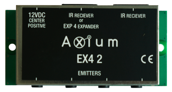 AXIUM 4 IR out Connecting block with powersupply connectionIR - Office Connect