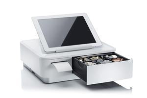 Star mPOP Mobile Point of Purchase Solution with B/tooth Printer White - Office Connect