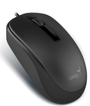 Genius DX-120 USB Wired Mouse Black - Office Connect