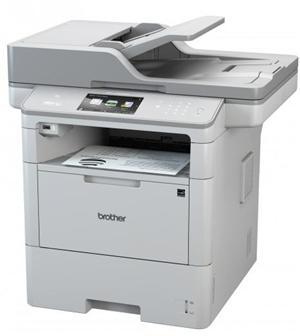 Brother MFCL6900DW 50ppm Mono Laser MFC Printer WiFi - Office Connect