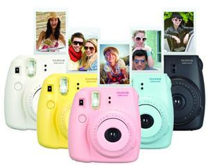 Fujifilm Instax Mini 8 Camera Yellow Soft Bundle - Office Connect