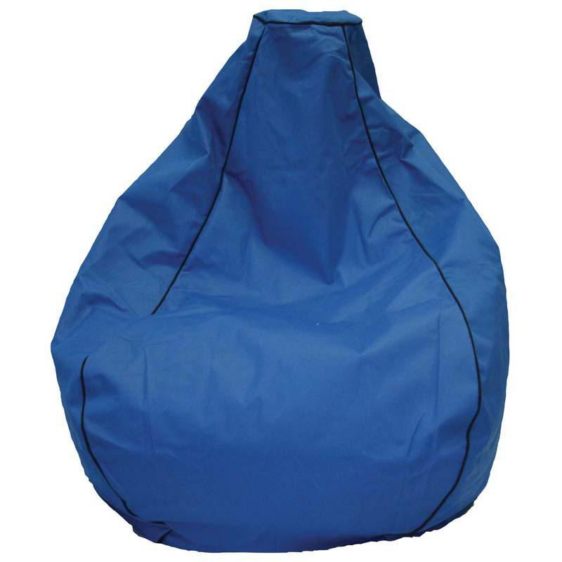 Studio Bean Bag Blue 200l Filled Prem Outdoor - Office Connect
