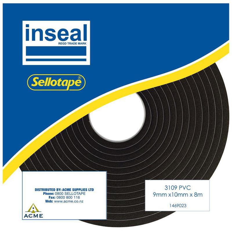 Inseal 3109 PKD 9mmT x10mmW x8m - Office Connect