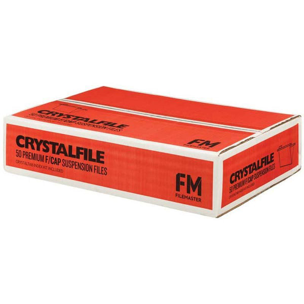 FM File Suspension Crystalfile Green Box 50 Foolscap - Office Connect