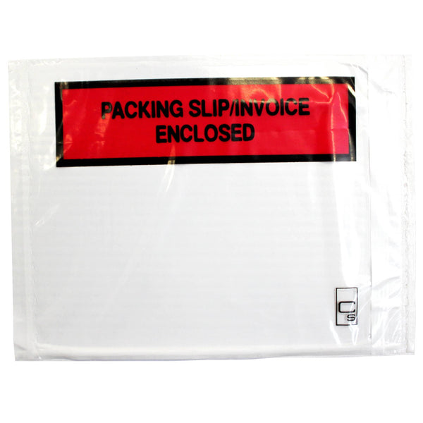 Cumberland Labelopes PACKING SLIP/INVOICE ENCLOSED 155x115mm 100/Pkt - Office Connect