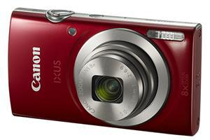 Canon IXUS 185 20.0MP 8x Zoom Digital Camera Red - Office Connect