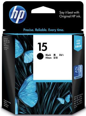 HP 15 Black Ink Cartridge - Office Connect