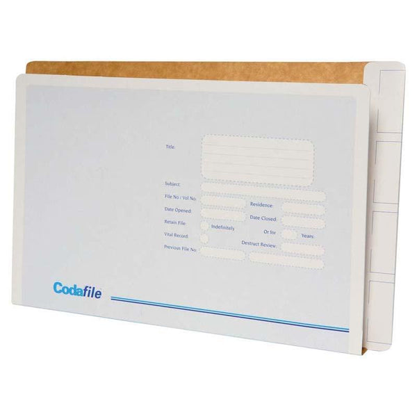 Codafile File Standard With Left Hand Pocket (Order 50 to receive a box) - Office Connect