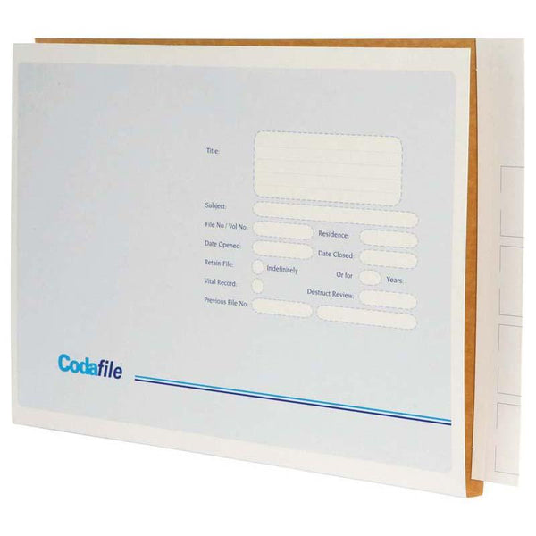 Codafile File Extra Large 45mm Box 100 - Office Connect