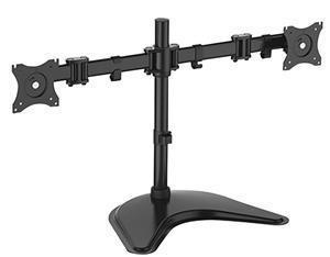 "Digitus 15-27"" Dual Monitor Stand with Desk Stand Base - Office Connect"