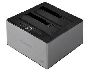 Silverstone TS12-C USB3.1 Type-C 2.5/3.5 SATA HDD Dual Dock - Office Connect