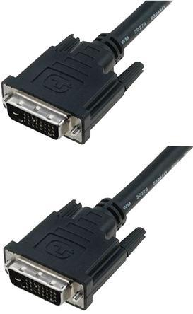Digitus DVI-D (M) to DVI-D (M) Dual Link 5m Monitor Cable - Office Connect