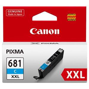 Canon CLI681XXLC Extra High Yield Cyan Ink Cartridge - Office Connect