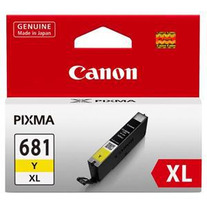 Canon CLI681XLY Yellow High Yield Ink - Office Connect