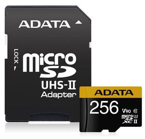 ADATA Premier ONE V90 UHS II Micro SDXC Card 256GB - Office Connect