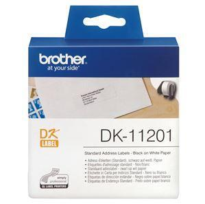 Brother DK11201 400 Standard Address Labels 29mm x 90mm - Office Connect