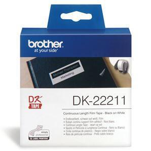 Brother DK22211 Continuous Length Paper Label Tape 29mm x 15.24m - Office Connect