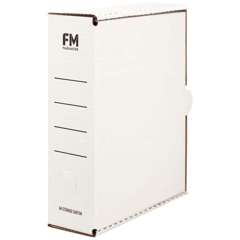 FM Storage Carton White A4 333x255x90mm 900/Pallet - Office Connect