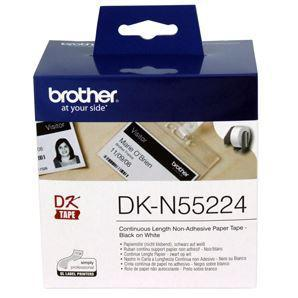 Brother DKN55224 Non-Adhesive Continuous Paper Roll 54mm x 30.48m - Office Connect
