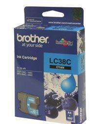 Brother LC38C Cyan Ink Cartridge - Office Connect