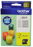 Brother LC231Y Yellow Ink Cartridge - Office Connect