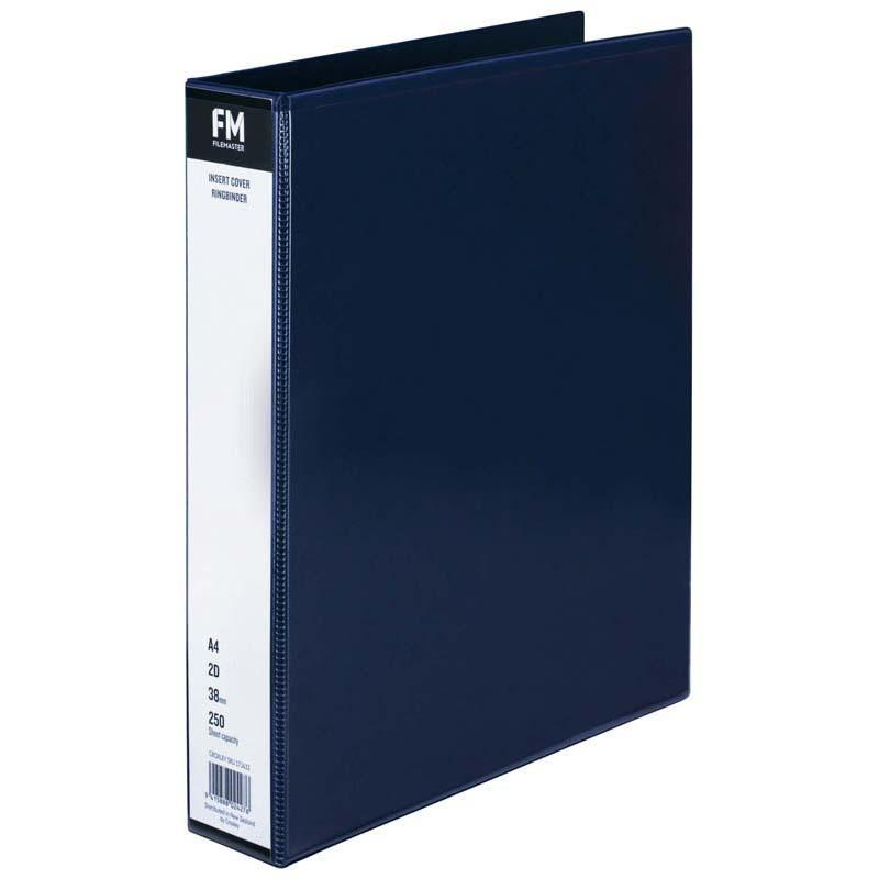 FM Binder Overlay A4 2/38 Blue Insert Cover - Office Connect