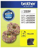 Brother LC233Y Yellow Ink Cartridge - Office Connect