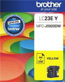 Brother LC23EY Yellow Ink Cartridge - Office Connect