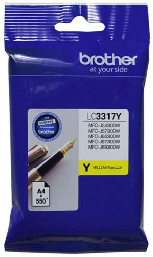 Brother LC3317Y Yellow Ink Cartridge - Office Connect