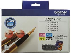 Brother LC3317PVP Ink Cartridge Photo Value Pack - Office Connect